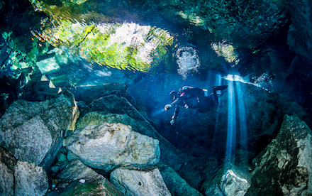 Cenote Diving 08